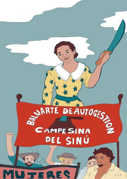 "© Gabriela Pinilla. Del libro ""Mariacano, roja muy roja""."