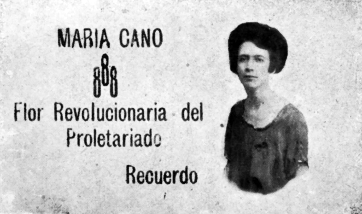María Cano Postal